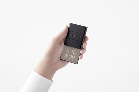 nendo reveals a credit card phone for OPPO, which is developed in three screens