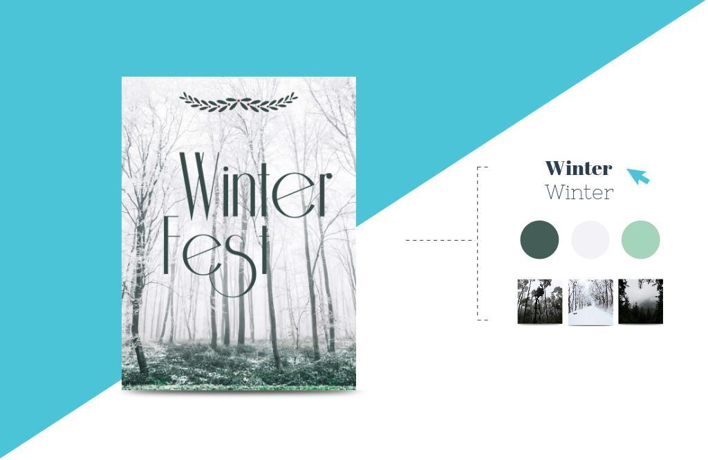 create an event poster design online