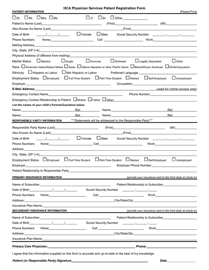 Registration Form Template Doc. best photos of registration form ...
