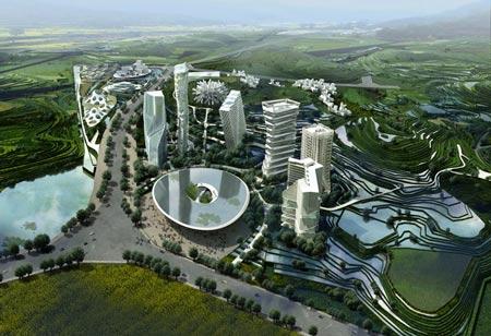 Huaxi city nature