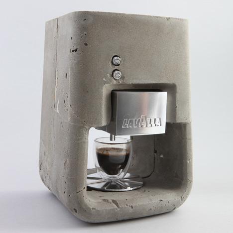 ESPRESSO SOLO : concrete espresso machine
