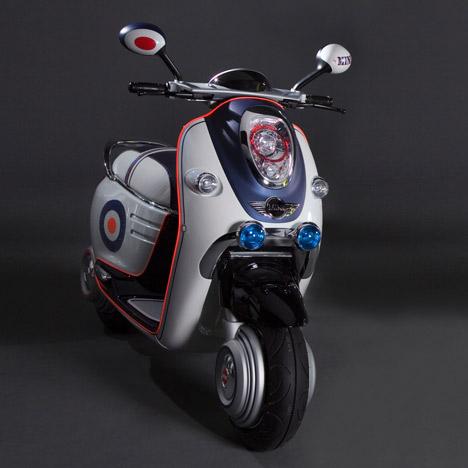 Mini Scooter E Concept Charles Perretti