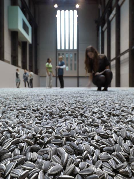 Sunflower Seeds 2010 by Ai Weiwei