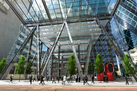 The Leadenhall Building by Rogers Stirk Harbour and Partners