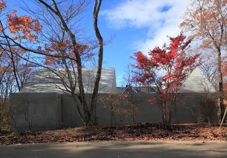 House in Nasu by Kazunori Fujimoto