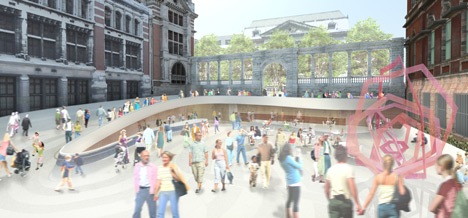 V&A Exhibition Road project shortlist