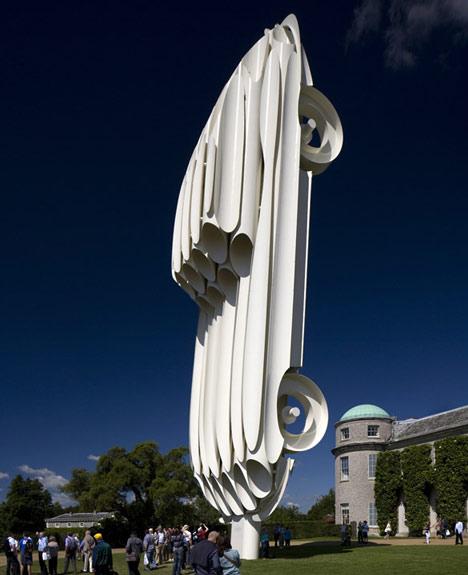 Jaguar E-Type Sculpture by Gerry Judah
