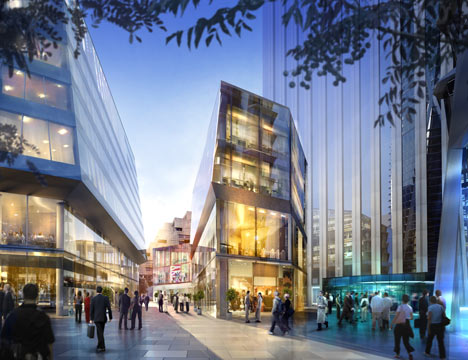 Hermitage Plaza by Foster + Partners