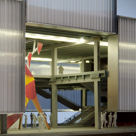 Garage Centre for Contemporary Culture by OMA