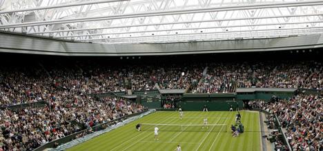 Wimbledon Centre Court sliding roof by Populous