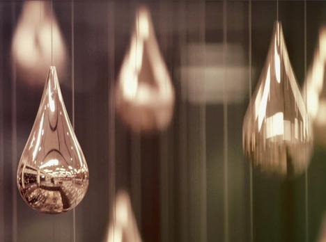 Kinetic Rain by ART+COM