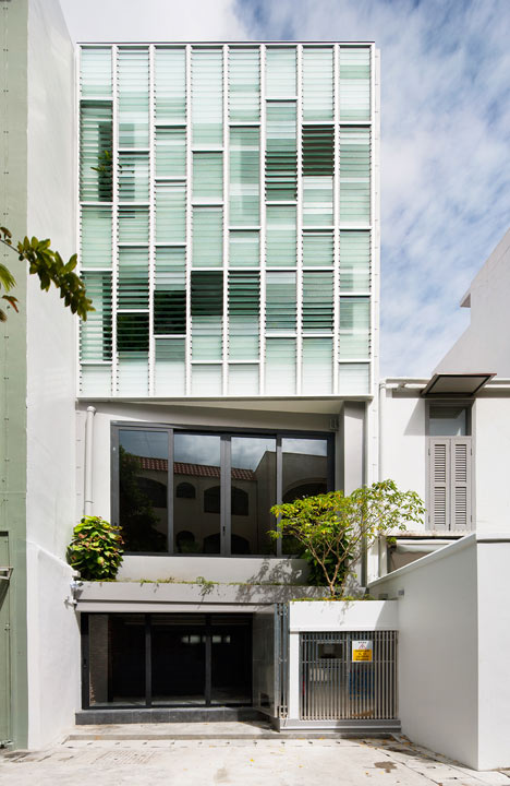 The Pool Shophouse by FARM and KD Architects