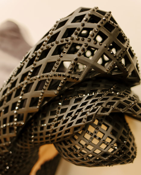 3D-printed dress by Michael Schmidt and Francis Bitonti