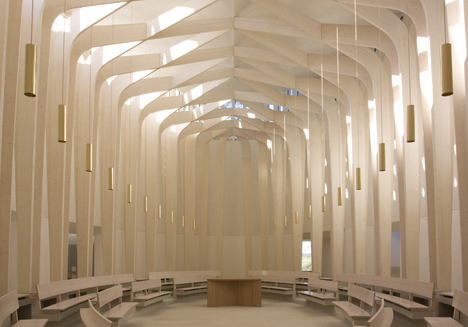 Bishop Edward King Chapel by Niall McLaughlin Architects