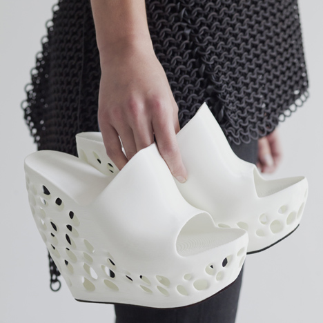 Dezeen 3D Shoes