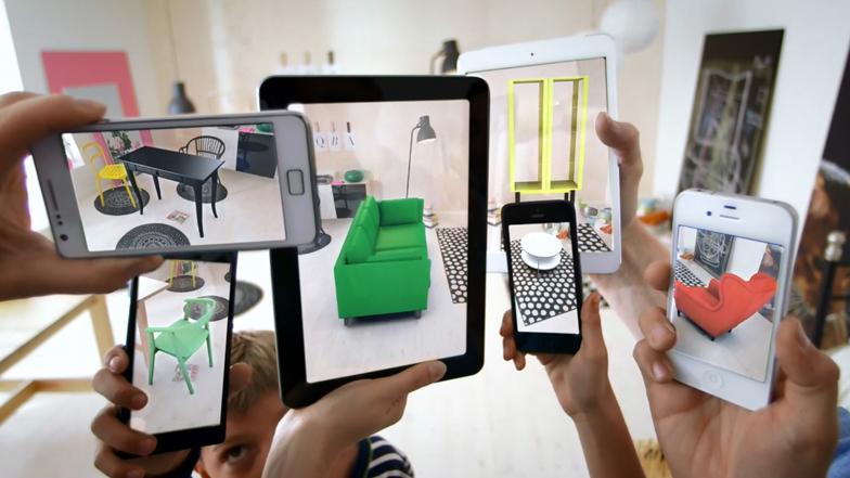 Resultado de imagem para augmented reality ikea