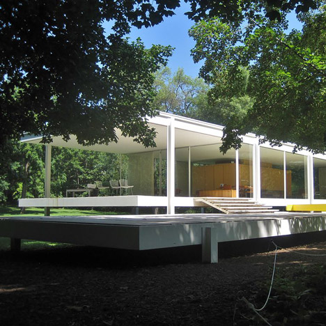 Farnsworth House by Mies van der Rohe