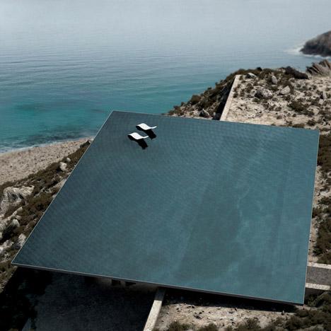 ultra modern beach house