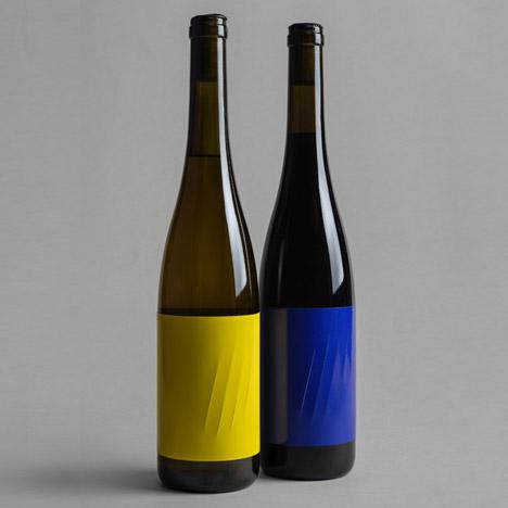 Feroz wine label by Franziska Studio