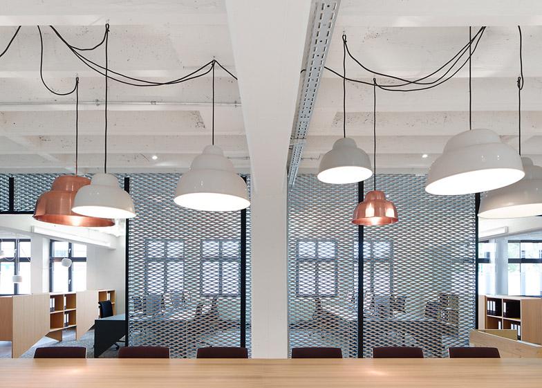 alexander fehre designs office for a conveyor belt manufacturer