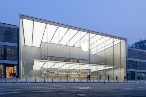 Apple Store Westlake Hangzhou de China por Foster and Partners
