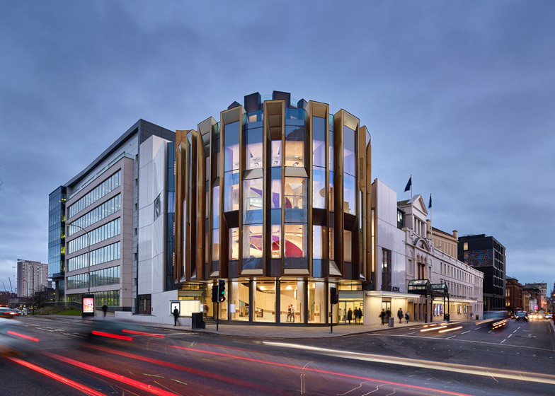 Theatre Royal, Glasgow, by PagePark Architects. Photograph by Andrew Lee