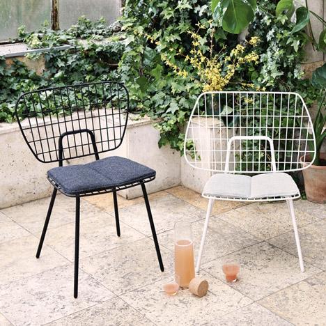 menu s wm string chairs have matching