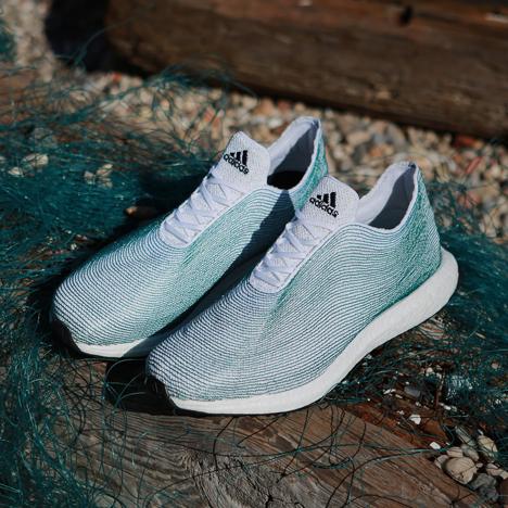 Adidas x Parley recycled ocean waste sneaker