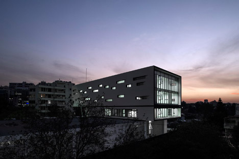 Nestle Waters Beirut Headquarters by Bernard Mallat architects