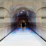 Mise-En-Abyme installation by Matteo Fogale and Laetitia de Allegri at London's V&A museum