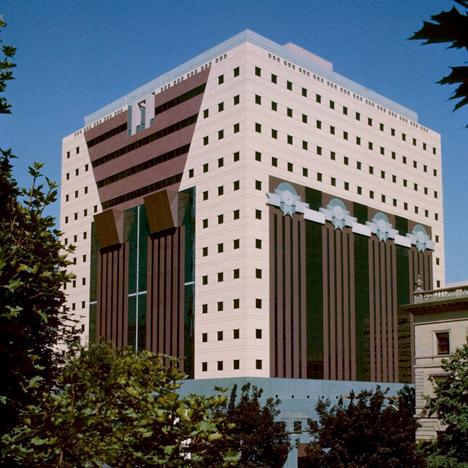 Portland Municipal Services Building, Oregon, by Michael Graves