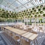 Four O Nine Transforms Greenhouse Into Plant Lined Cafe