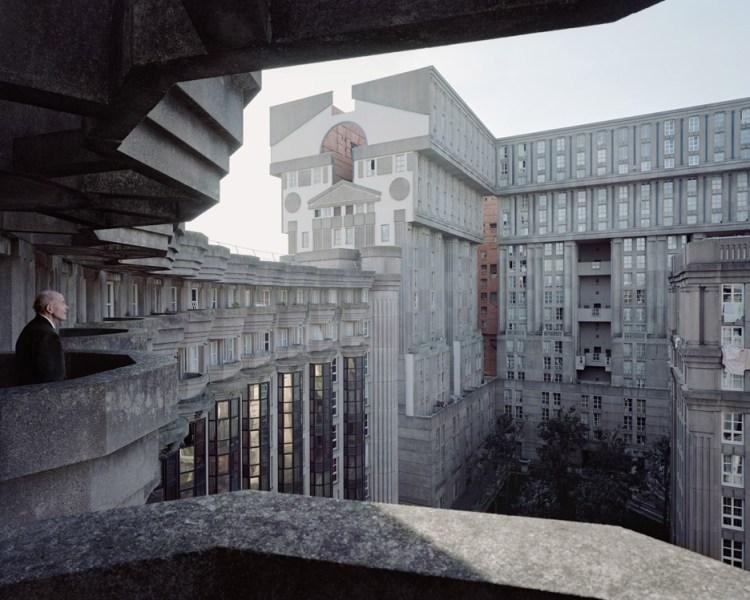 Laurent Kronental的Souvenir d'un Futur攝影系列