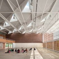 Multipurpose Educational Hall by Carmen Martinez, Gregori Carmel Gradolo Martinez and Arturo Sanz Martinez