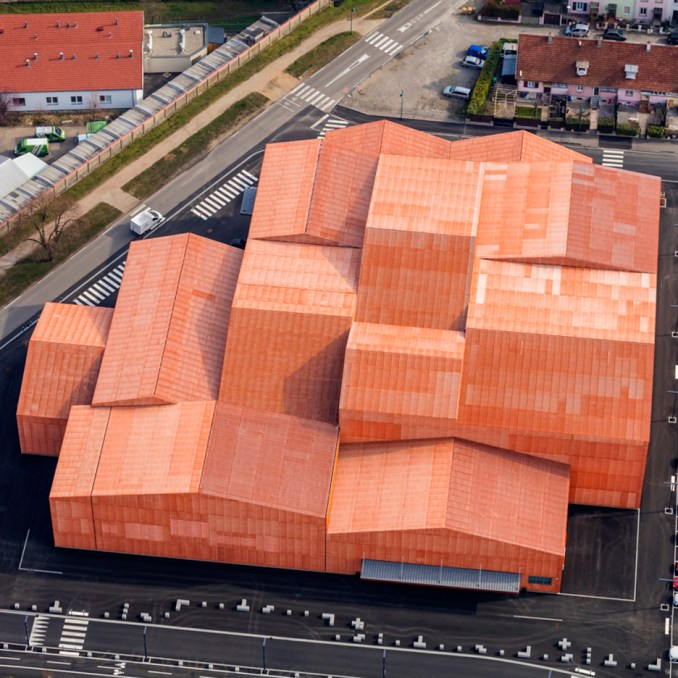 Forum of Saint Louis by Manuelle Gautrand Architecture in Alsace, France