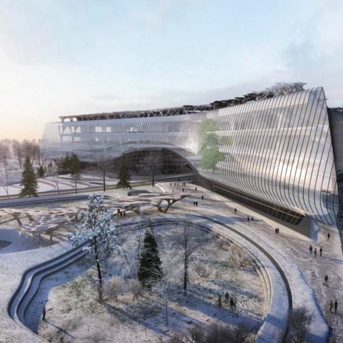 Sberbank technopark Moscow by Zaha Hadid Architects
