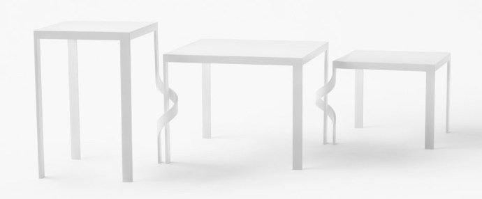 Tangle table by Nendo for Cappellini furniture Milan design week 2016