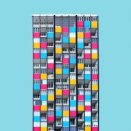 Colourful Berlin: Photography architecture essay by Paul Eis from Germany