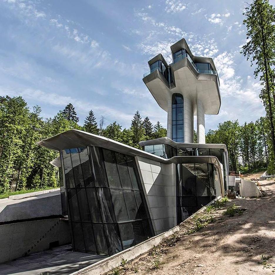 Capital Hill Residence by Zaha Hadid Architects