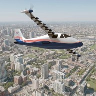 NASA X-57 electric airplane