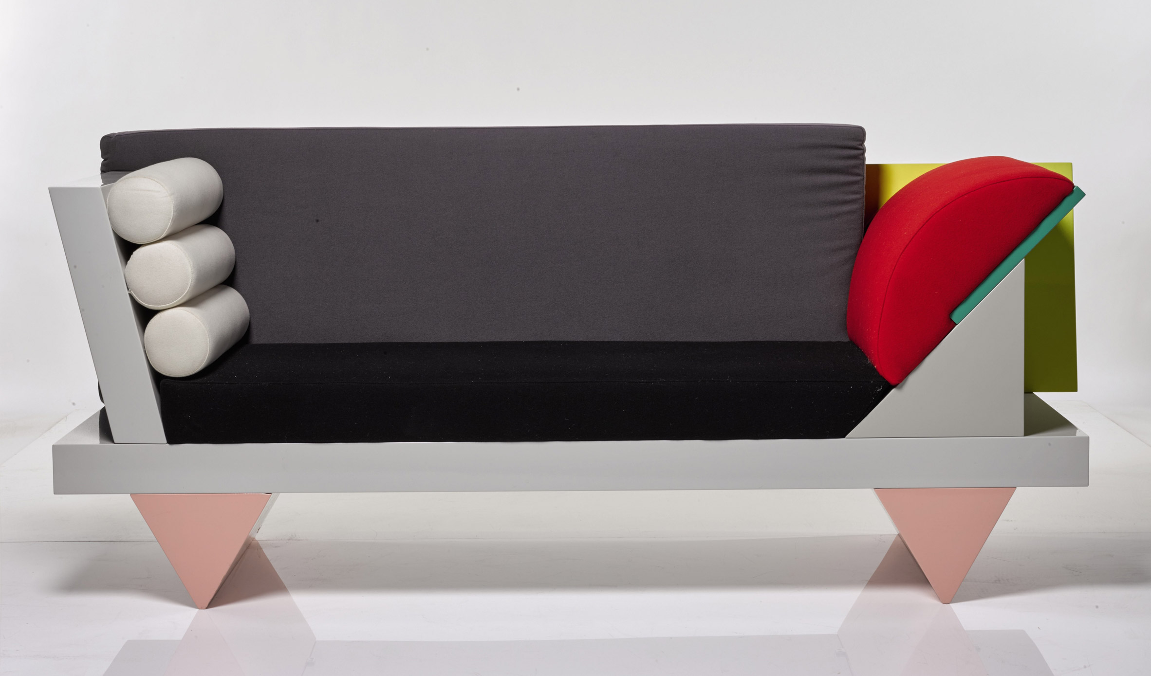 David Bowie's Memphis style couch