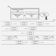News: Amazon patents driverless highway system