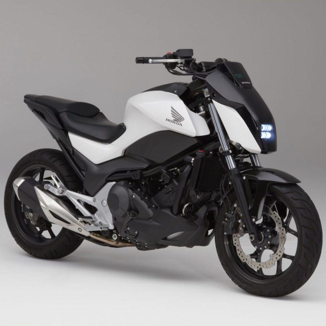CES: Honda self-balancing motorcycle