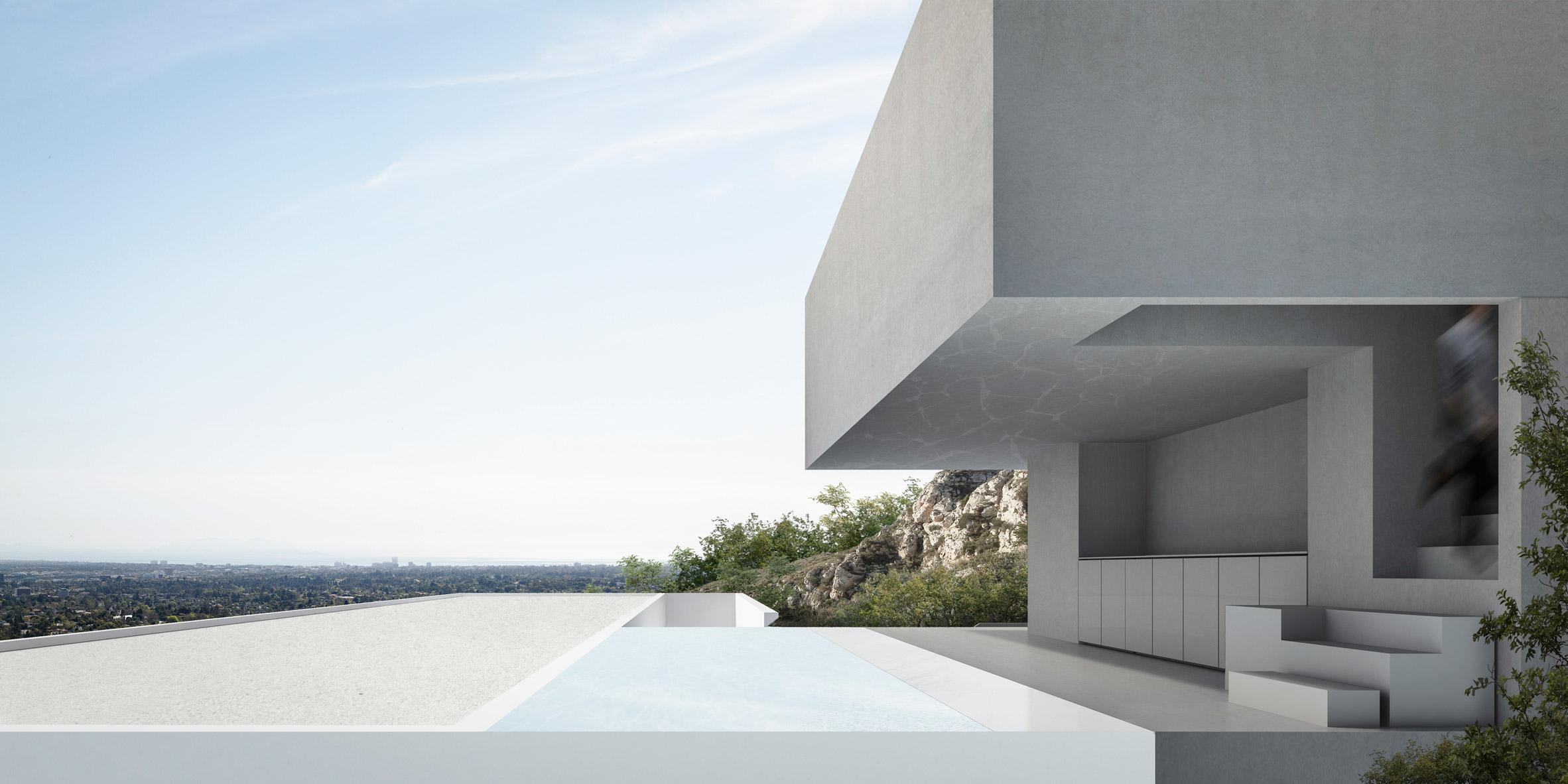 House in Hollywood Hills by Fran Silvestre Arquitectos
