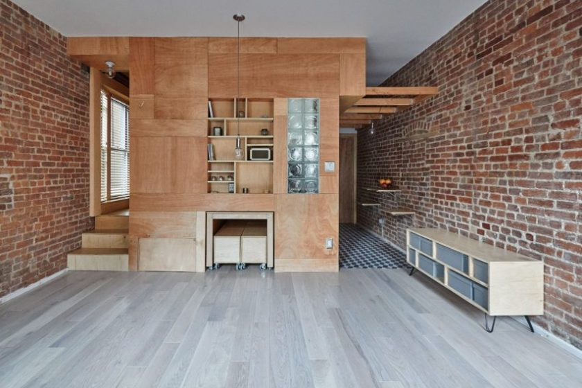 Peter Kostelov's renovated uptown Manhattan apartment
