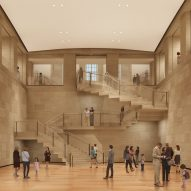 Frank Gehry expansion at the Philadelphia Museum of Art