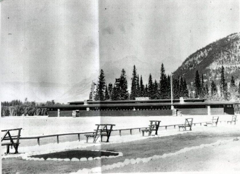 Unbuilt Banff Pavilion - Frank Lloyd Wright Revival Initiative