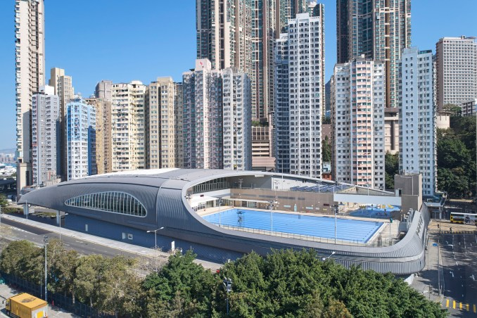 Kennedy Town Swimming Pool by Farrells