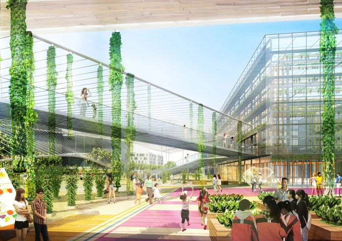 The Sunqiao Urban Agricultural District by Sasaki
