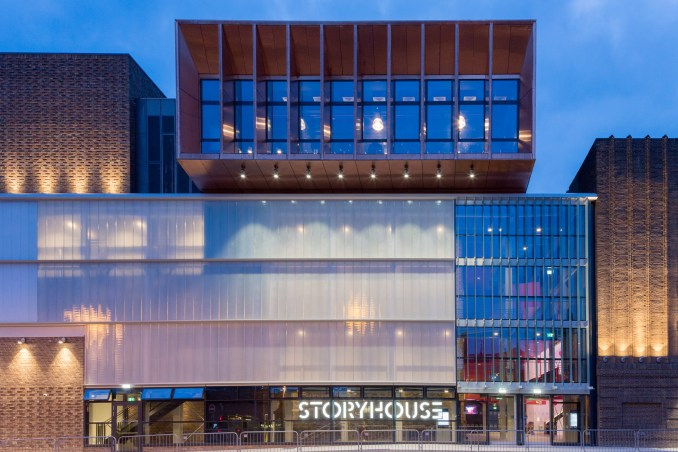 Chester Storyhouse by Bennetts Associates